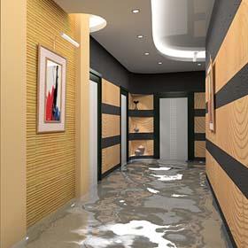 """חברת """"גרינדום"""". רצפות וקירות יצוקות. קירות 3D. שיפוץ דירות. שיפוץ בתים."""
